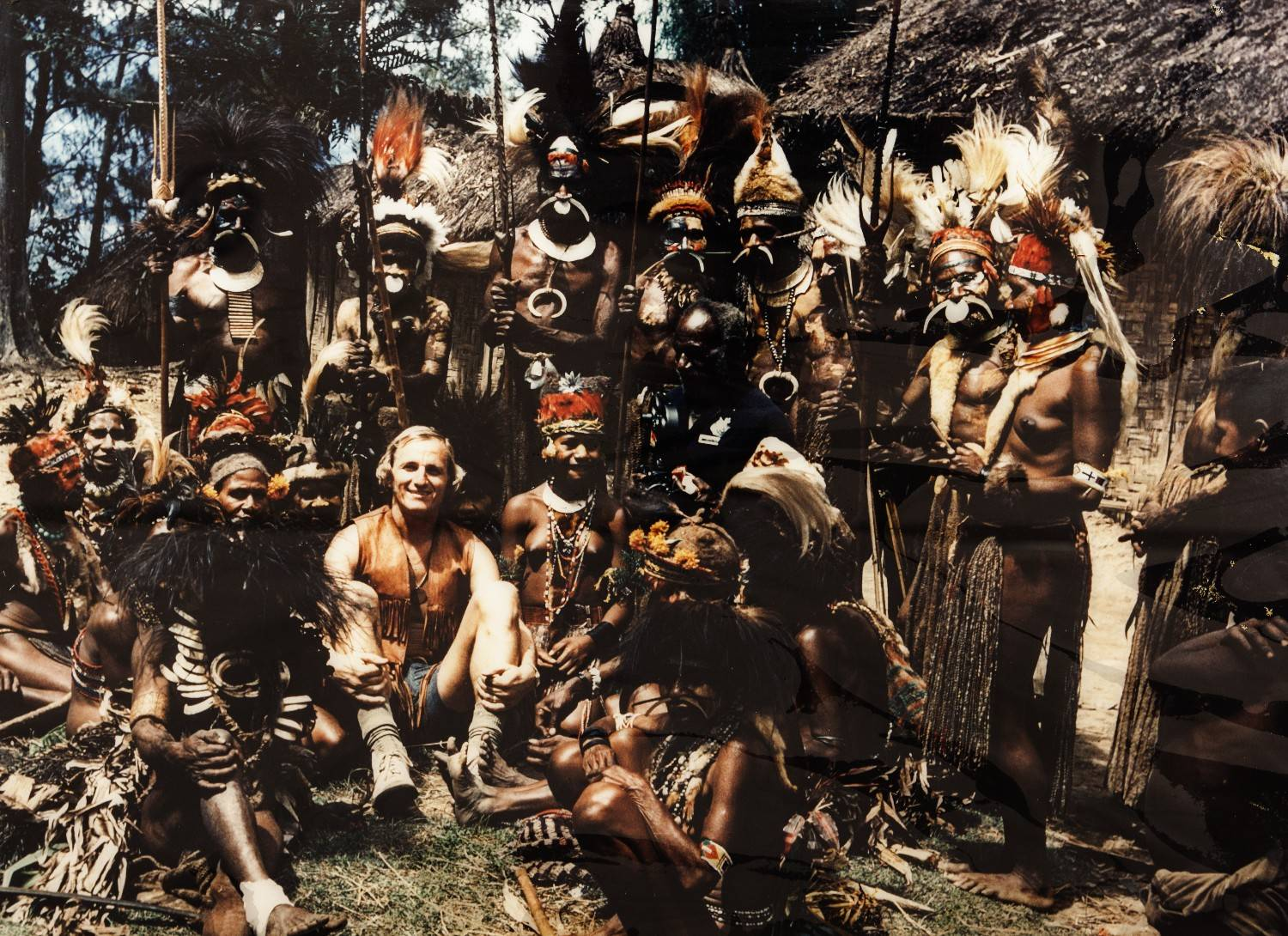 Papua Newguinea expedition 1975